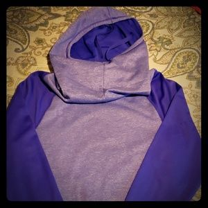 Champion Duo-Dry Purple Hoodie Sweatshirt